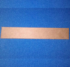DAPA Products Upholstery Cut-Length Cardboard Tack Strip