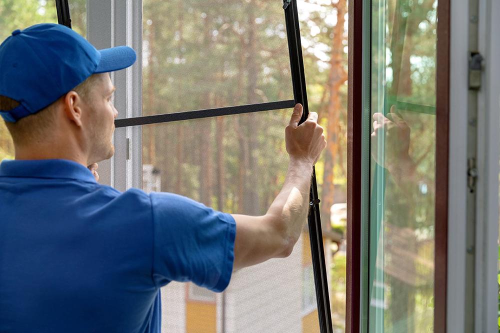 Screen Spline Door and Window Installation