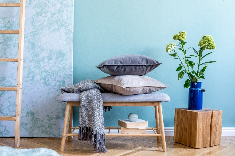 Welt Cord on Pillows for Upholstery Decor