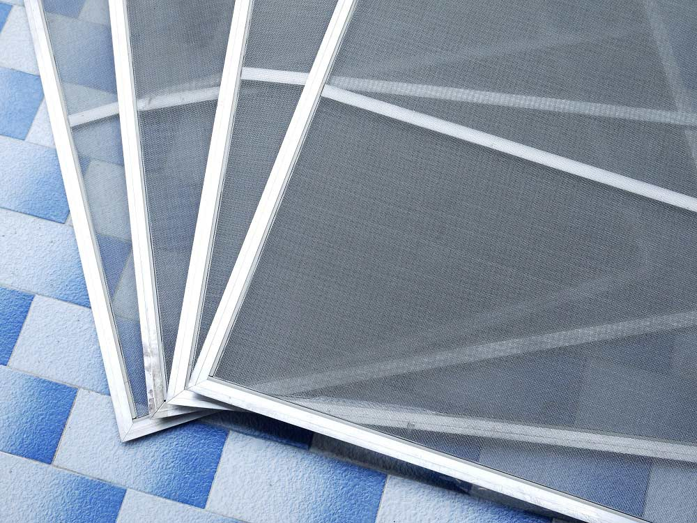 Window Screen and Frame Kits with Spline
