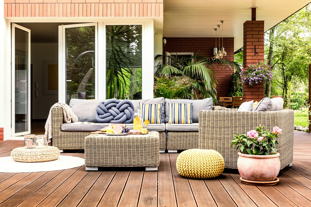 Welt cord outdoor furniture uses