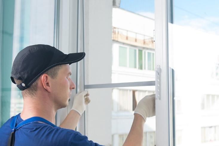 Window Screen Aluminum Mesh Repair