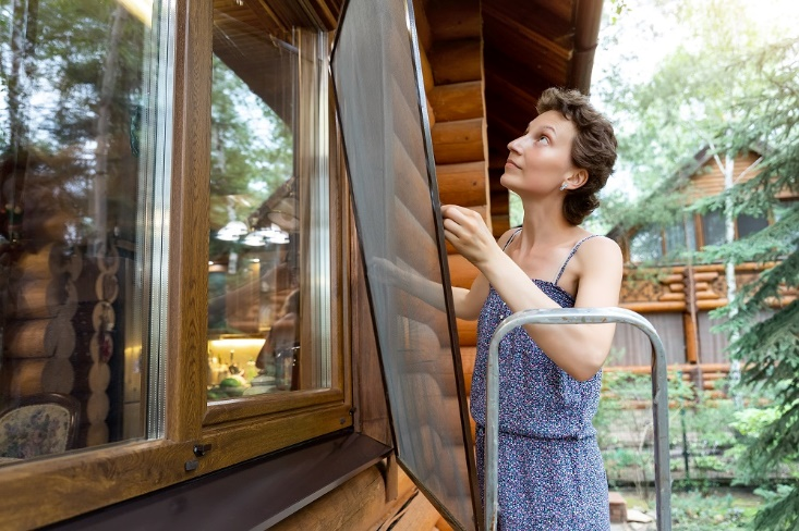 Window Screen Replacement Remove and Install Home